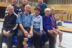 Seniorenriege 1. Turnstunde 2017