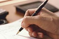 Schreiben, Text, Unterschrift, Erledigen
